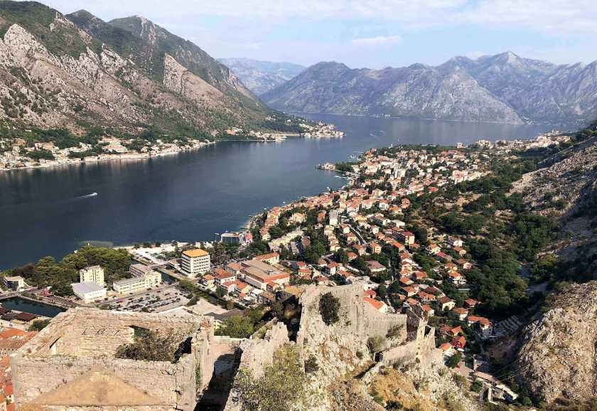 Bay of Kotor and Kotor, Montenegro