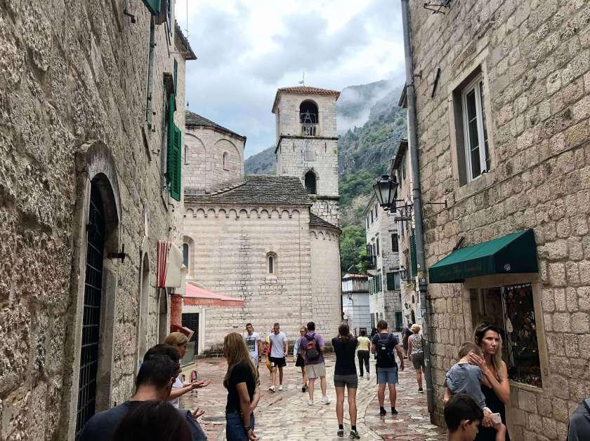 streets of Kotor, Montenegro